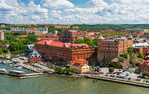 Van Göteborg naar Strömstad