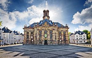 De hoofdstad Saarbrücken