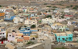 De hoofdstad Espargos