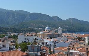 Samos-stad: cultuur, shoppen, eten en drinken