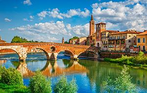 Bezoek het romantische Verona
