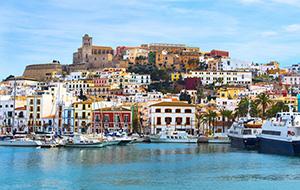 Zwerven door Ibiza-Stad