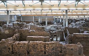 Het oude Akrotiri