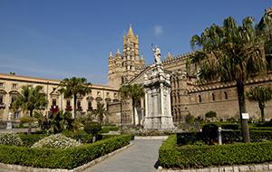 De Cattedrale di Palermo is prachtig om te zien