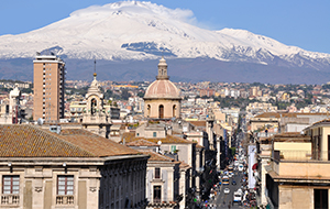 Bezoek de Mount Etna