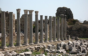 Ruines Tempel van Apollo