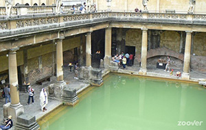 Verwarmde baden in Bath