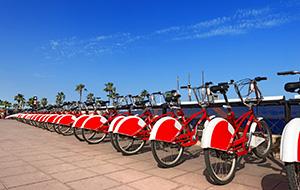 Verken de steden per fiets