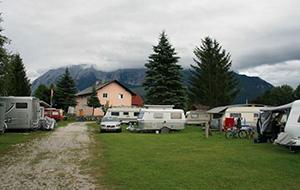 Honden welkom: Camping & Pension Grimmingsicht