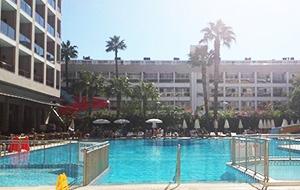 Van alle gemakken voorzien: Hotel Pasa Beach in Turkije