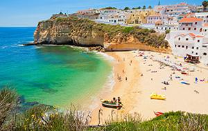 Kilometerslange kustlijnen in Algarve
