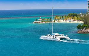 Chillen op een Catamaran