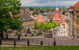 Gotha en Slot Friedenstein