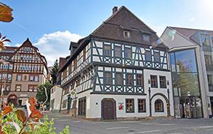 Eisenach: de stad van Luther en Bach