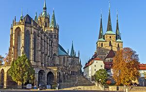 Het middeleeuwse Erfurt