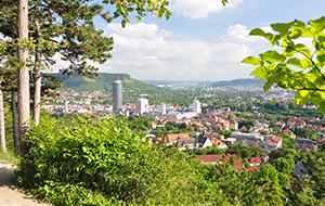 Jena: de stad van de glasindustrie