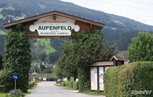 Midden in de Zillertaalse alpen: Camping Aufenfeld