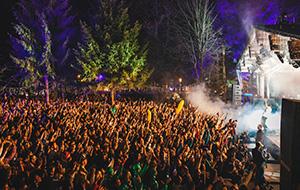 Festival in de sneeuw