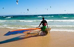 Windsurfen in Turkije