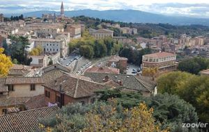 In het groen van Perugia