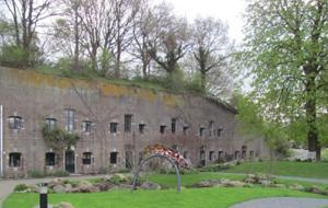 3. Fort Hoofdijk was onderdeel van de Nieuwe Hollandse Waterlinie