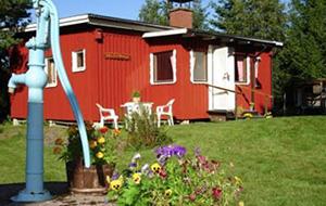 Camping Hälleback Stugor Vildmark