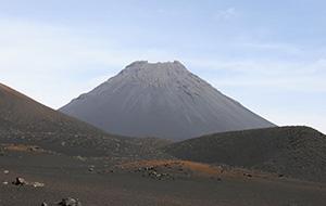 Pico de Fogo, wonen in de krater op Kaapverdië