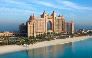Super chique: Hotel Atlantis The Palm in Dubai