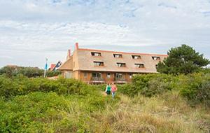 Aan het strand: Vakantiepark Landal Vlieduyn