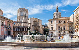 Modern en historisch Valencia