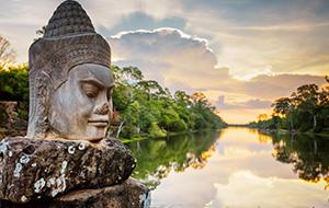 Tempels hoppen in Cambodja