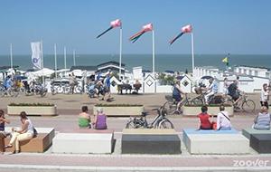 Aan de kust van Knokke