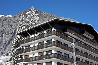 Hotels aan de pistes
