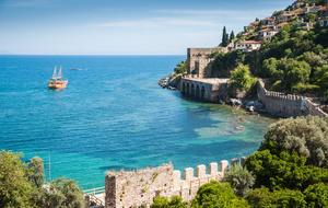 5. De zon op je gezicht in Mediterraan Turkije