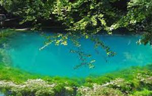 Het meer van Blautopf
