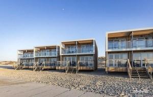 1. Slapen op het strand in de Landal beach villa's