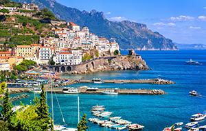 De kust van Amalfi