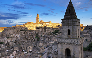 Matera, de bergstad