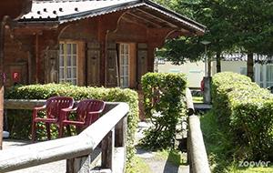 Goede ligging van Camping Jungfrau