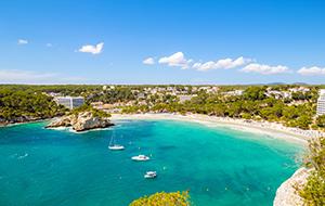 Prachtige baai: Cala Galdana
