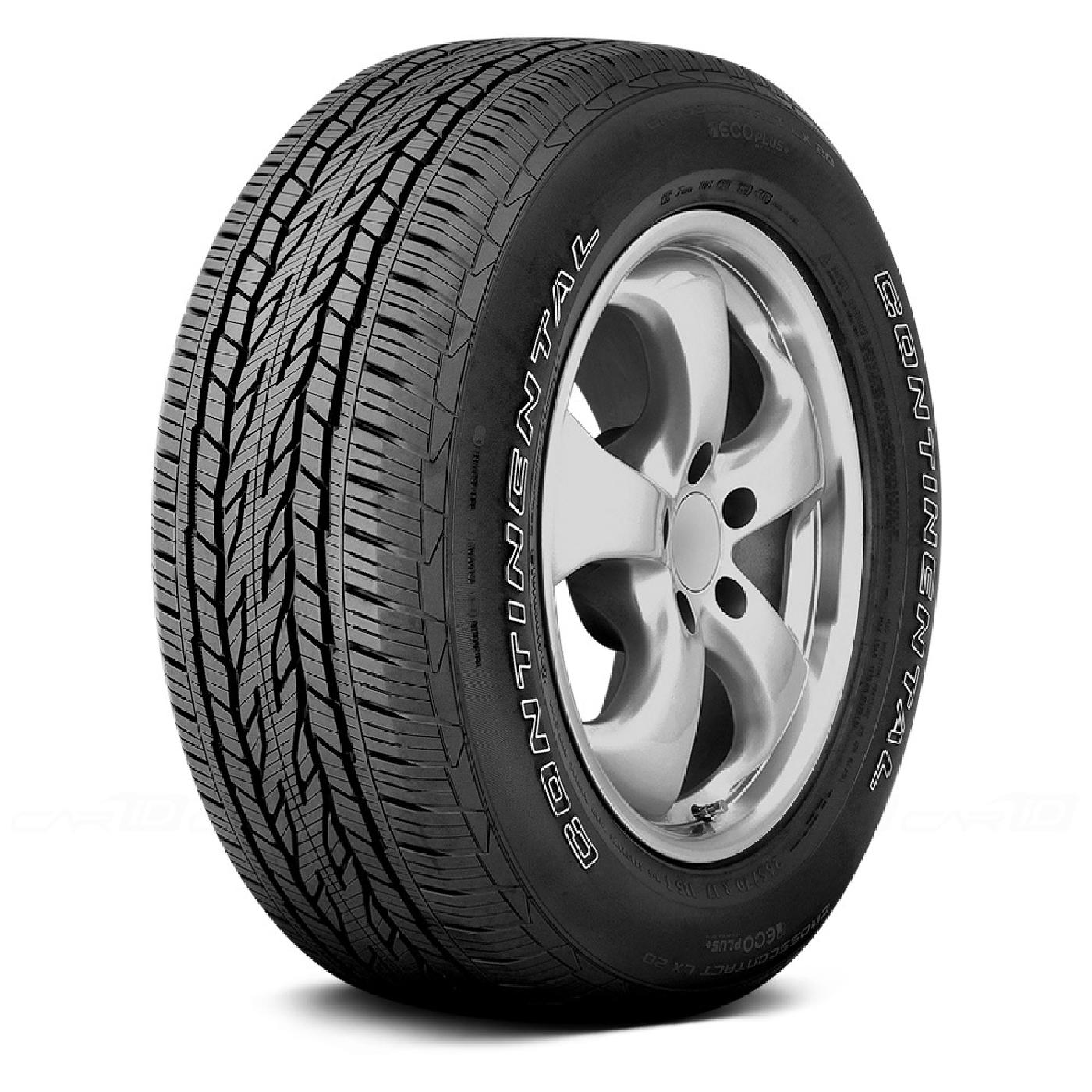 CONTINENTAL CONTICROSSCONTACT LX20 255/55 R20 107H