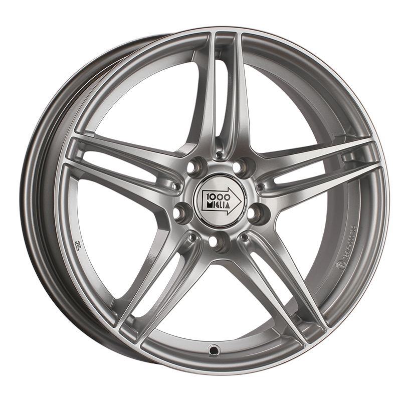1000 MIGLIA MM037 17X7.5 PCD5*112 ET47 DIA66.6 ANTHRACITE POLISHED