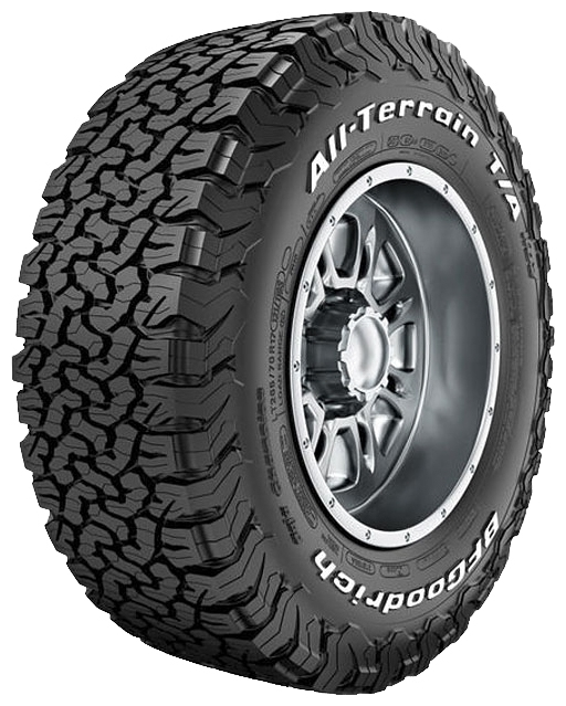 BF GOODRICH ALL TERRAIN T/A KO2 265/60 R18 119/116S