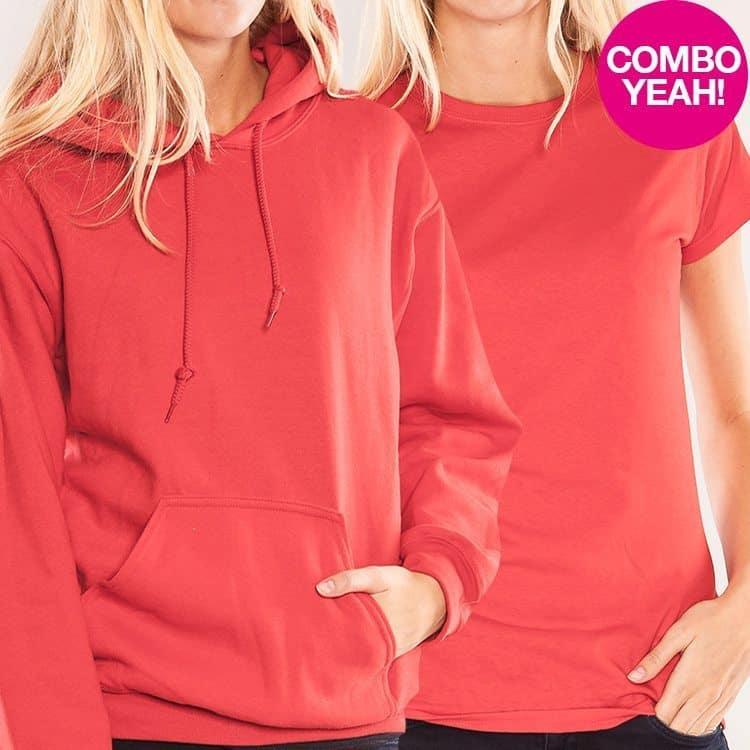 COMBO Girl T-Shirt + Unisex Kapu
