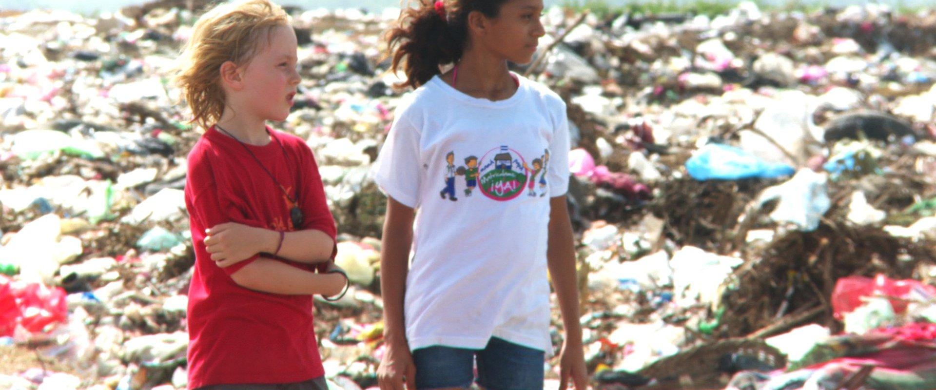 Fiesta auf der Müllhalde