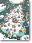 Adventskalender, Weihnacht am Nordpol