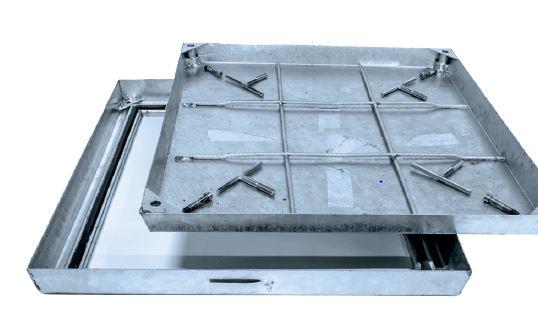 Stahl verzinkt Fülldeckel