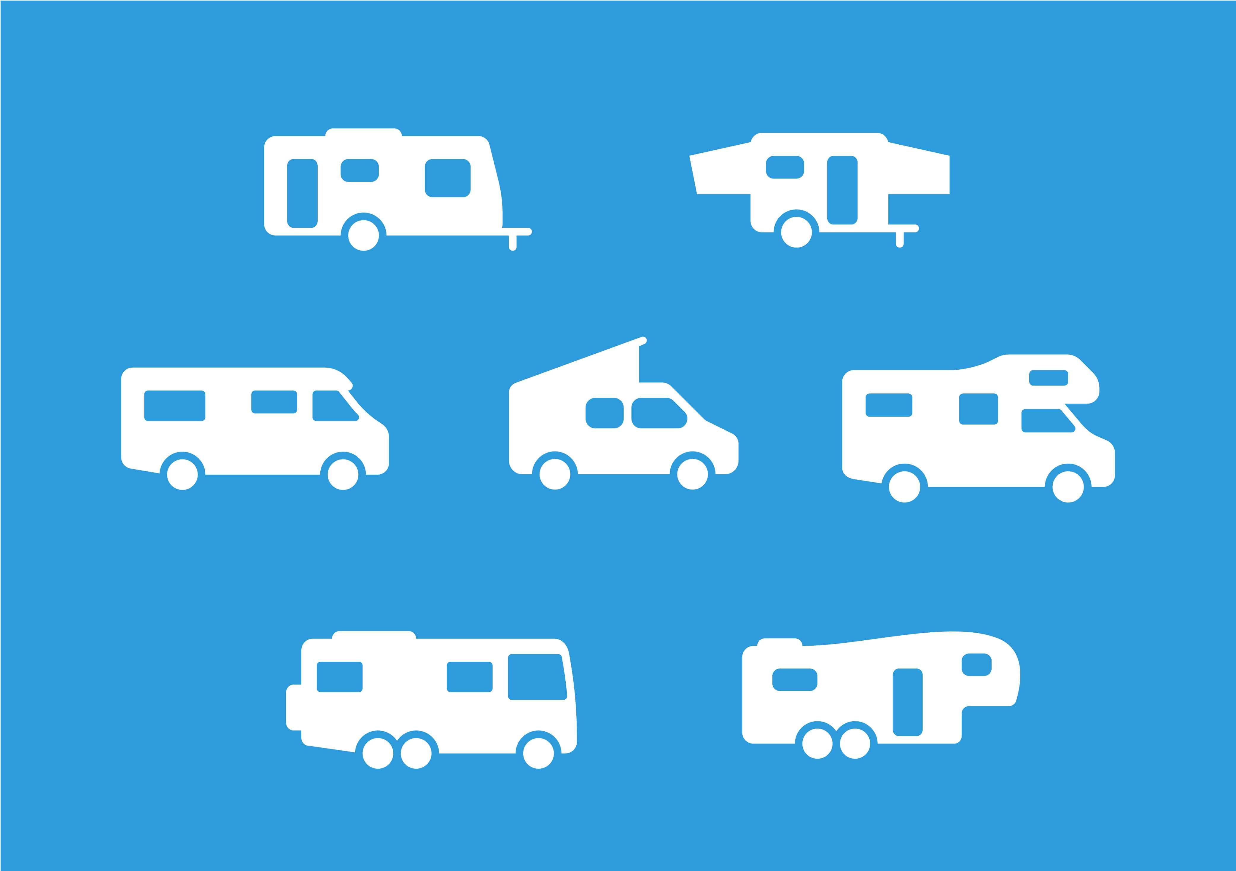Abbildung Wohnmobil Typen
