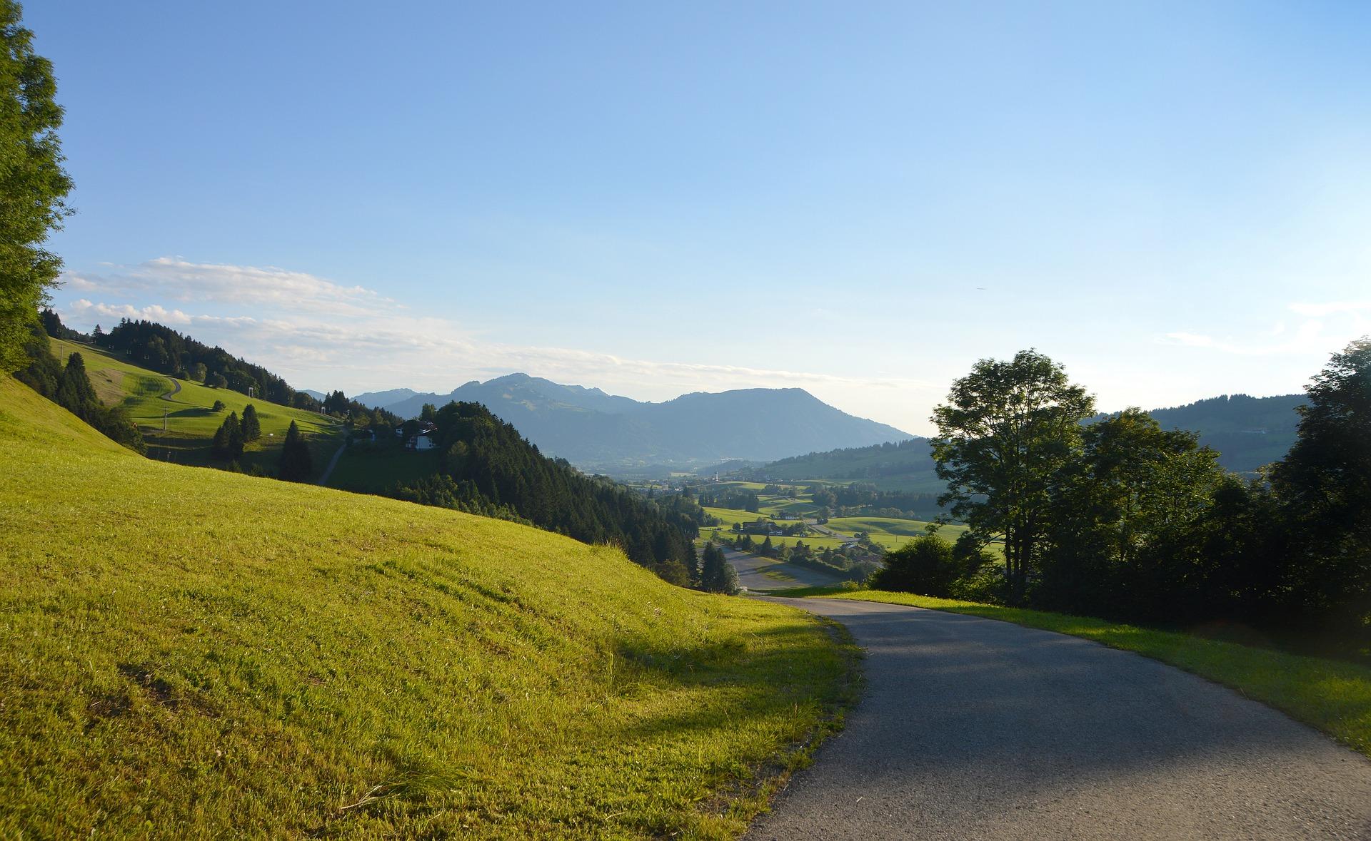 Seenlandschaft im Allgäu