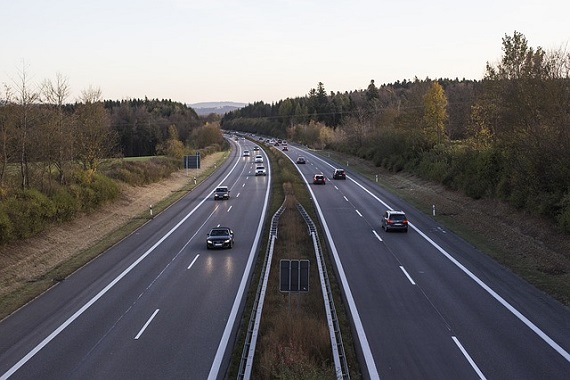Straße in Deutschland